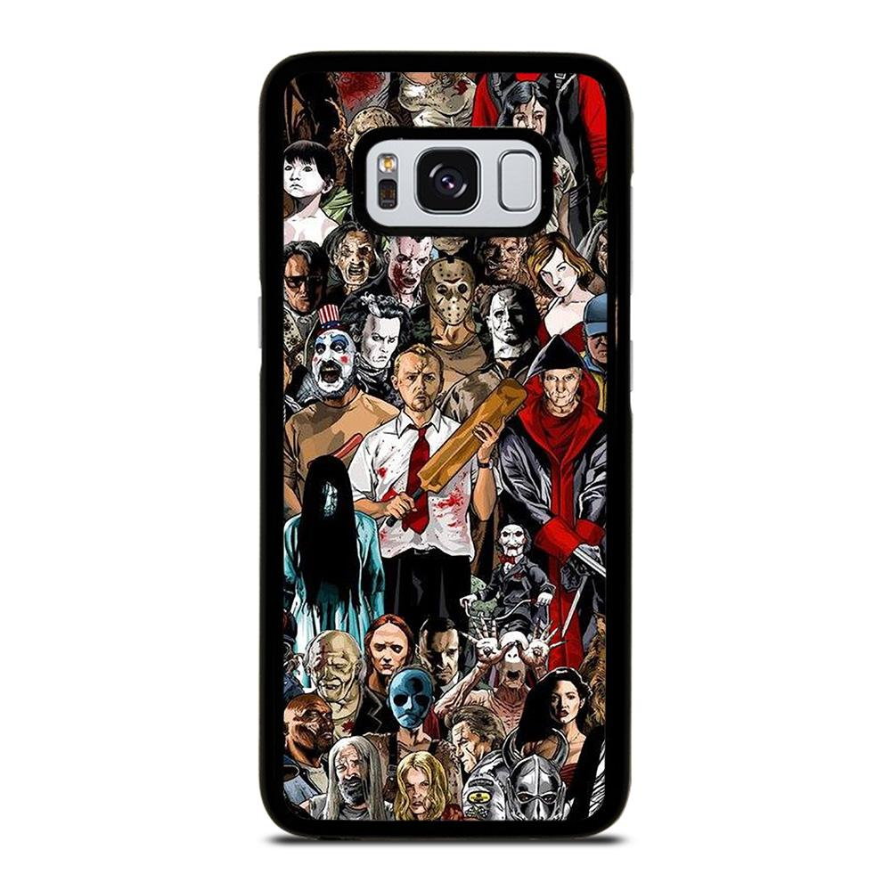 HORROR MOVIE COLLAGE Cover Samsung Galaxy S8,cover s8 burlon cover s8 ultra slim,HORROR MOVIE COLLAGE Cover Samsung Galaxy S8