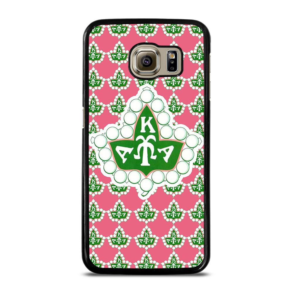 HOT AKA PINK AND GREEN Cover Samsung Galaxy S6