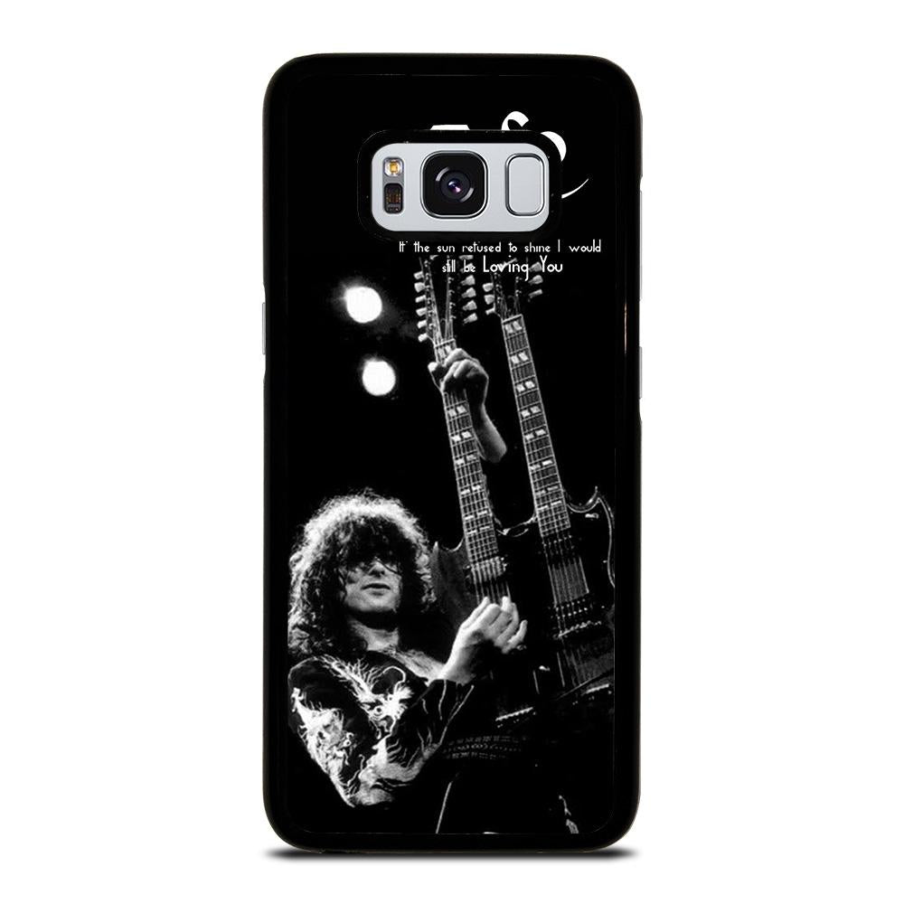 JIMMY PAGE LED ZEPPELIN Cover Samsung Galaxy S8,pellicola cover s8 cover s8 colorate,JIMMY PAGE LED ZEPPELIN Cover Samsung Galaxy S8