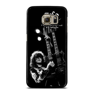 JIMMY PAGE LED ZEPPELIN Cover Samsung Galaxy S6