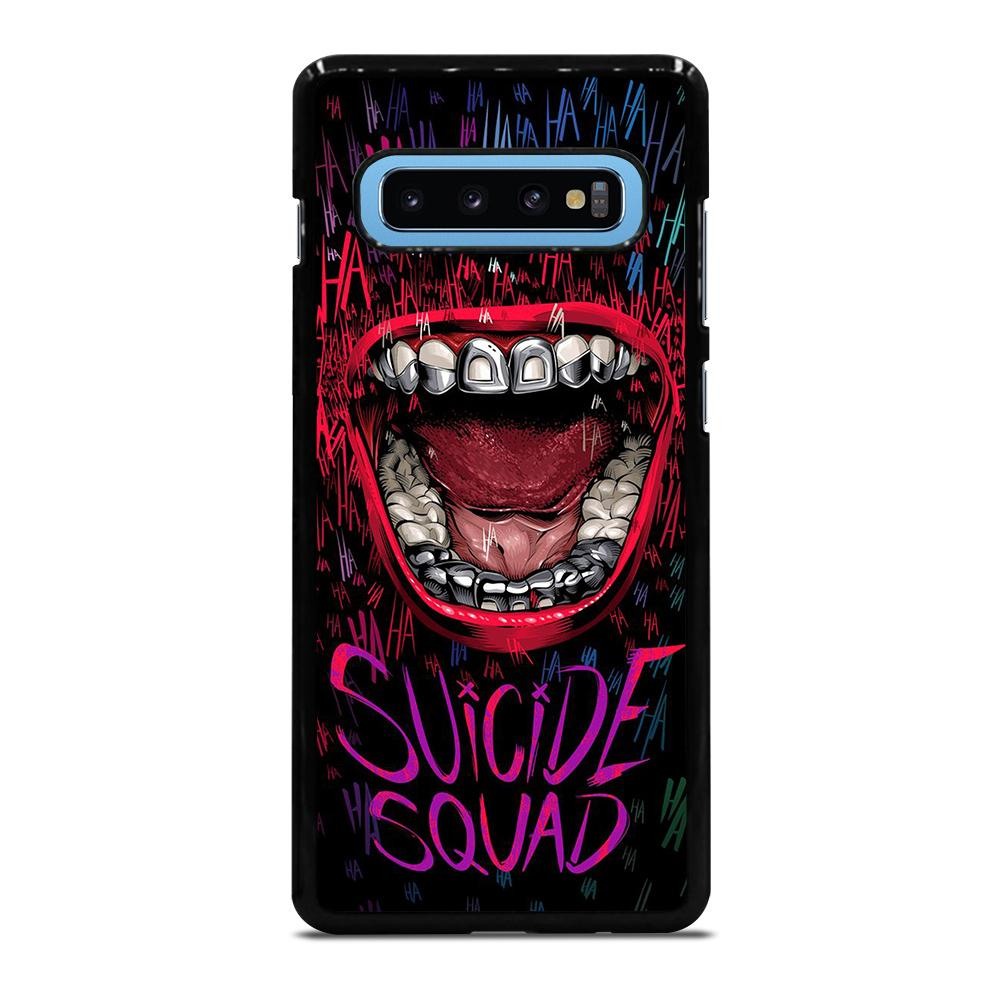 JOKER COMIC SUICIDE SQUAD HAHAHA Cover Samsung Galaxy S10 Plus