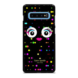 KATE SPADE COLORFULL MONSTER EYE Cover Samsung Galaxy S10 Plus