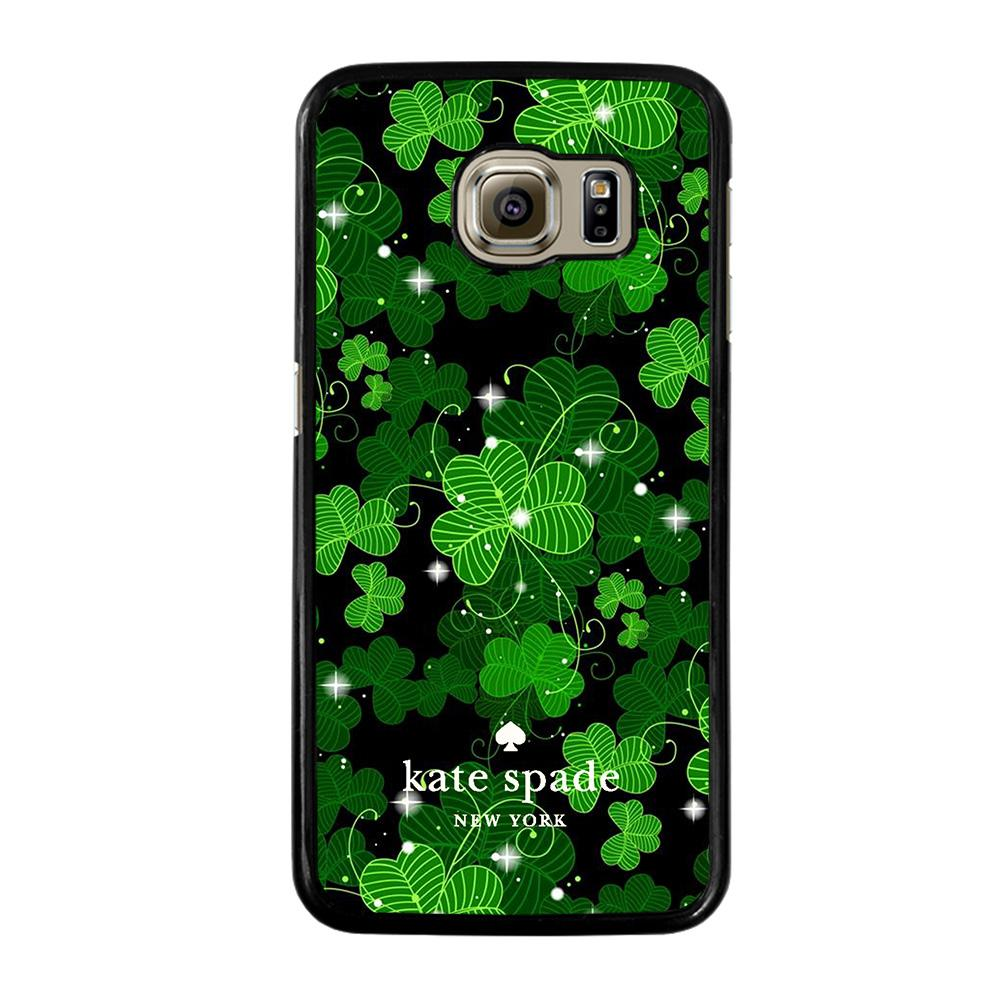 KATE SPADE GREEN LEAFS Cover Samsung Galaxy S6