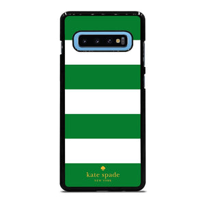 KATE SPADE GREEN STRIPE Cover Samsung Galaxy S10 Plus