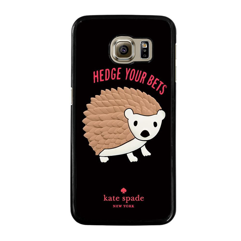 KATE SPADE HEDGE YOUR BETS Cover Samsung Galaxy S6