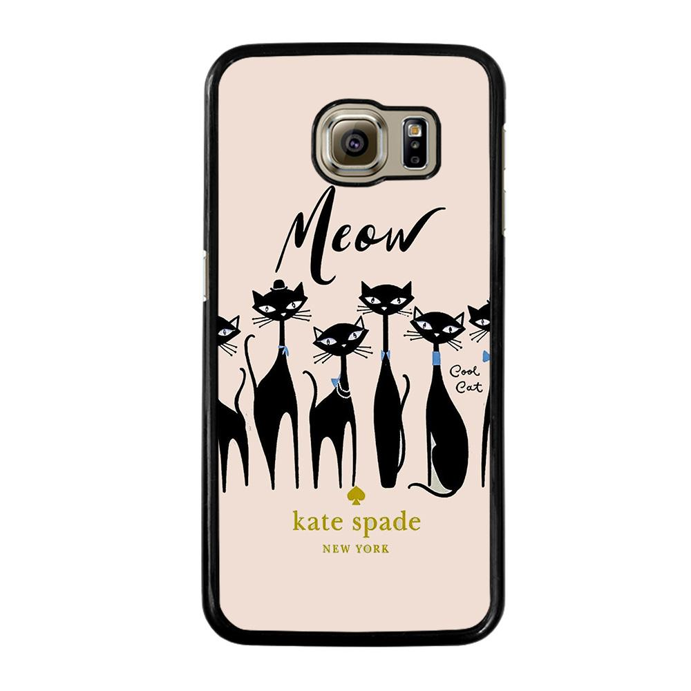 KATE SPADE MEOW CAT Cover Samsung Galaxy S6