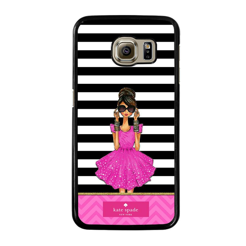 KATE SPADE PINK GIRLS Cover Samsung Galaxy S6
