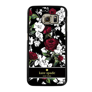 KATE SPADE ROSE RED WHITE Cover Samsung Galaxy S6