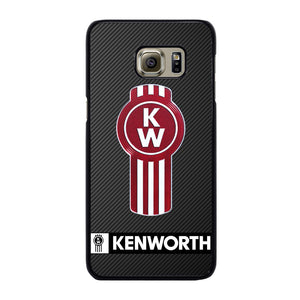 KENWORTH TRUCK LOGO CARBON Cover Samsung Galaxy S6 Edge Plus