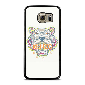 KENZO PARIS WHITE Cover Samsung Galaxy S6