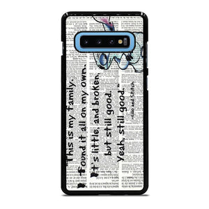 LILO AND STITCH QUOTES Disney Cover Samsung Galaxy S10 Plus