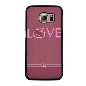 LOVE HELLO KITTY Cover Samsung Galaxy S6