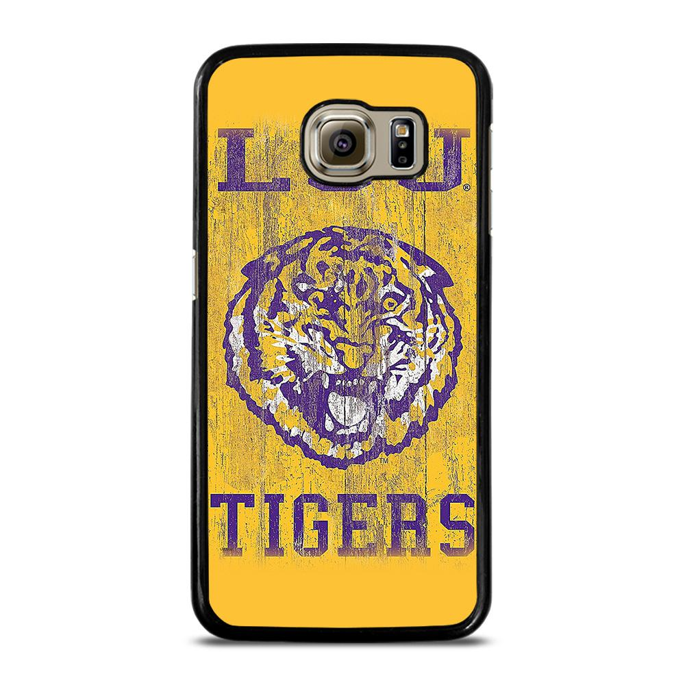 LSU TIGERS WALL ART Cover Samsung Galaxy S6