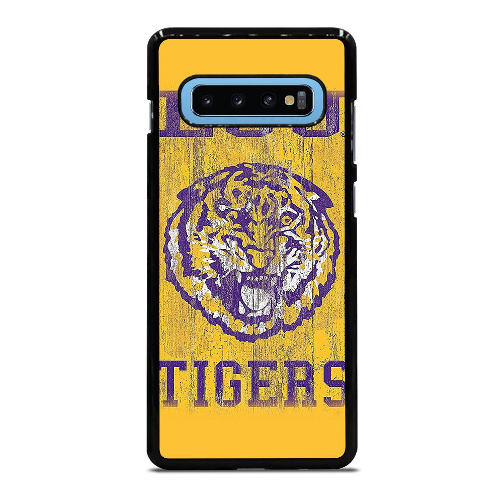 LSU TIGERS WALL ART Cover Samsung Galaxy S10 Plus
