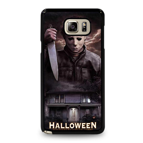coque custodia cover fundas hoesjes j3 J5 J6 s20 s10 s9 s8 s7 s6 s5 plus edge D34692 MICHAEL MYERS HALLOWEEN Samsung Galaxy Note 5 Case