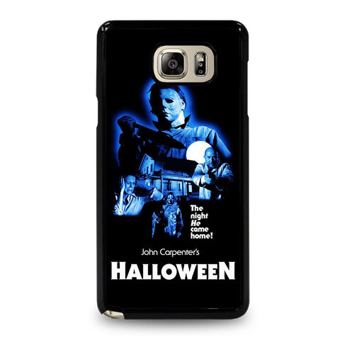 coque custodia cover fundas hoesjes j3 J5 J6 s20 s10 s9 s8 s7 s6 s5 plus edge D34634 MICHAEL MYERS HALLOWEEN #2 Samsung Galaxy Note 5 Case