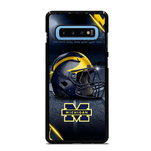 MICHIGAN WOLVERINES FOOTBALL 3 Cover Samsung Galaxy S10 Plus