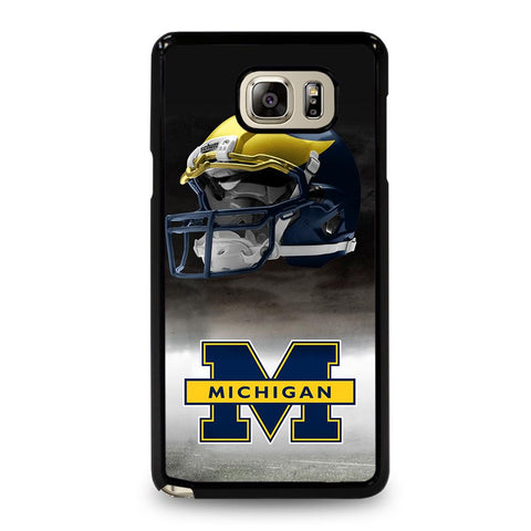 coque custodia cover fundas hoesjes j3 J5 J6 s20 s10 s9 s8 s7 s6 s5 plus edge D34730 MICHIGAN WOLVERINES #4 Samsung Galaxy Note 5 Case