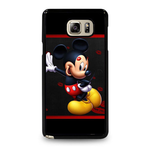 coque custodia cover fundas hoesjes j3 J5 J6 s20 s10 s9 s8 s7 s6 s5 plus edge D34803 MICKEY MOUSE #2 Samsung Galaxy Note 5 Case