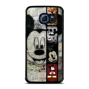 MICKEY MOUSE PAPER Cover Samsung Galaxy S6 Edge