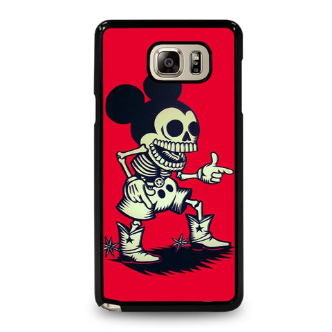 coque custodia cover fundas hoesjes j3 J5 J6 s20 s10 s9 s8 s7 s6 s5 plus edge D34914 MICKEY MOUSE ZOMBIE Samsung Galaxy Note 5 Case