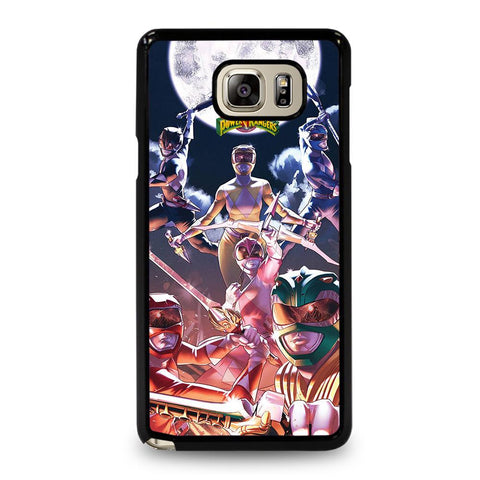 coque custodia cover fundas hoesjes j3 J5 J6 s20 s10 s9 s8 s7 s6 s5 plus edge D34932 MIGHTY MORPHIN POWER RANGERS #4 Samsung Galaxy Note 5 Case