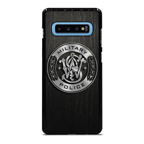 coque custodia cover fundas hoesjes j3 J5 J6 s20 s10 s9 s8 s7 s6 s5 plus edge D34956 MILITARY POLICE LOGO Samsung Galaxy S10 Plus Case