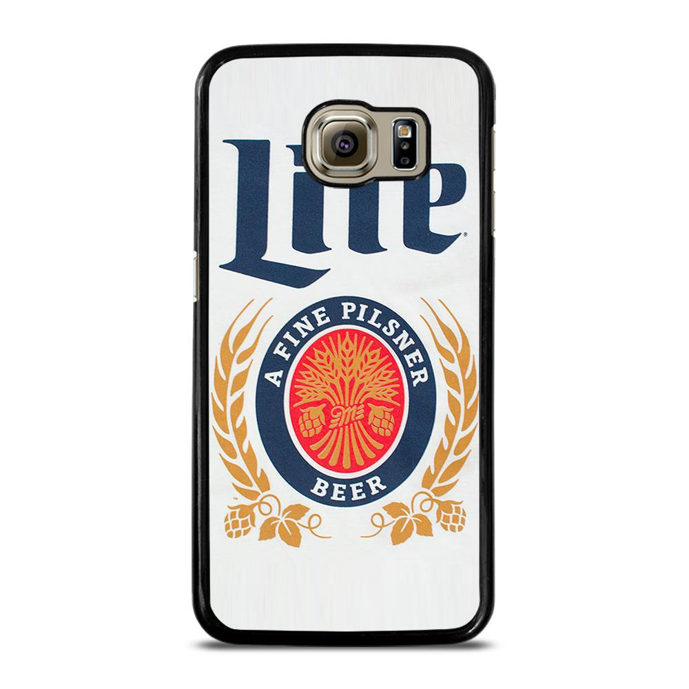 MILLER LITE BEER CAN 2 Cover Samsung Galaxy S6