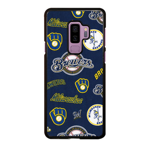 coque custodia cover fundas hoesjes j3 J5 J6 s20 s10 s9 s8 s7 s6 s5 plus edge D34999 MILWAUKEE BREWERS ICON Samsung Galaxy S9 Plus Case