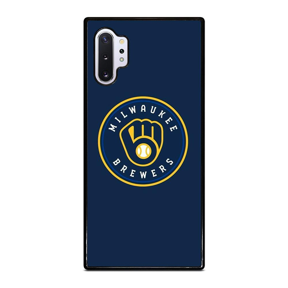coque custodia cover fundas hoesjes j3 J5 J6 s20 s10 s9 s8 s7 s6 s5 plus edge D35001 MILWAUKEE BREWERS Samsung Galaxy Note 10 Plus Case