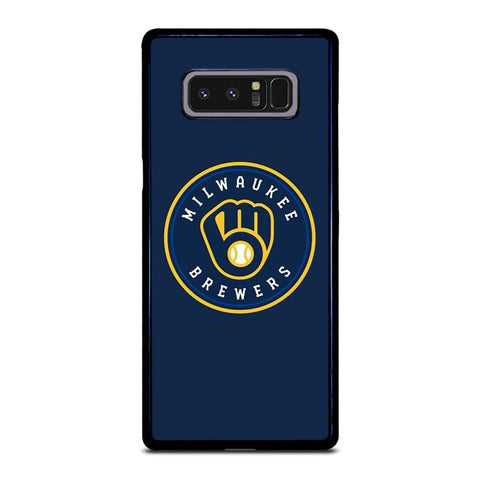 coque custodia cover fundas hoesjes j3 J5 J6 s20 s10 s9 s8 s7 s6 s5 plus edge D35002 MILWAUKEE BREWERS Samsung Galaxy Note 8 Case