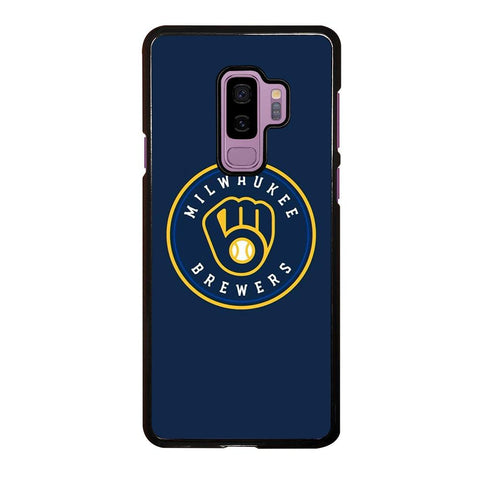 coque custodia cover fundas hoesjes j3 J5 J6 s20 s10 s9 s8 s7 s6 s5 plus edge D35013 MILWAUKEE BREWERS Samsung Galaxy S9 Plus Case