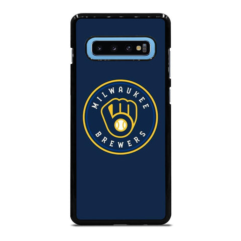 coque custodia cover fundas hoesjes j3 J5 J6 s20 s10 s9 s8 s7 s6 s5 plus edge D35007 MILWAUKEE BREWERS Samsung Galaxy S10 Plus Case