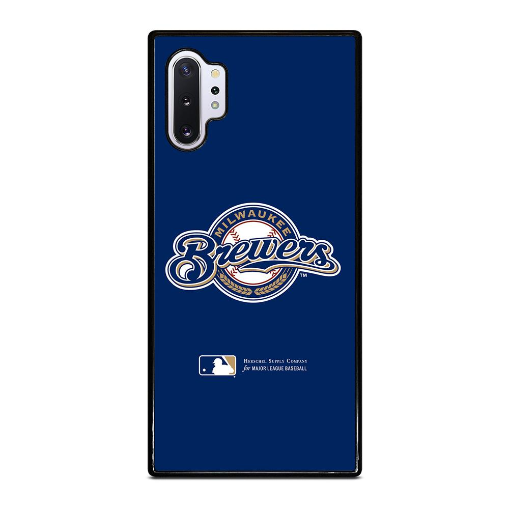 coque custodia cover fundas hoesjes j3 J5 J6 s20 s10 s9 s8 s7 s6 s5 plus edge D34964 MILWAUKEE BREWERS 1 Samsung Galaxy Note 10 Plus Case