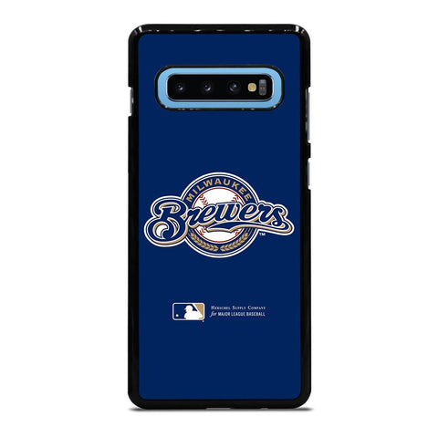 coque custodia cover fundas hoesjes j3 J5 J6 s20 s10 s9 s8 s7 s6 s5 plus edge D34970 MILWAUKEE BREWERS 1 Samsung Galaxy S10 Plus Case