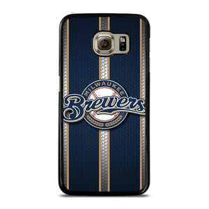 MILWAUKEE BREWERS MLB NEW LOGO Cover Samsung Galaxy S6
