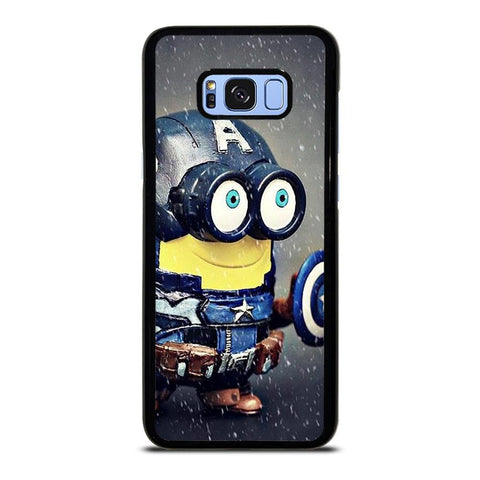 coque custodia cover fundas hoesjes j3 J5 J6 s20 s10 s9 s8 s7 s6 s5 plus edge D35190 MINION STYLE CAPTAIN AMERICA Samsung Galaxy S8 Plus Case