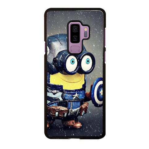 coque custodia cover fundas hoesjes j3 J5 J6 s20 s10 s9 s8 s7 s6 s5 plus edge D35192 MINION STYLE CAPTAIN AMERICA Samsung Galaxy S9 Plus Case