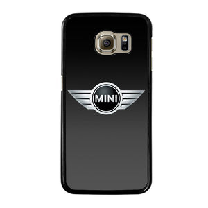 MINI COPER BLACK LOGO Cover Samsung Galaxy S6