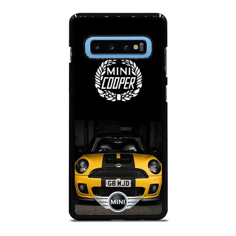 coque custodia cover fundas hoesjes j3 J5 J6 s20 s10 s9 s8 s7 s6 s5 plus edge D35088 MINI COOPER CAR #1 Samsung Galaxy S10 Plus Case