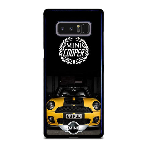 coque custodia cover fundas hoesjes j3 J5 J6 s20 s10 s9 s8 s7 s6 s5 plus edge D35083 MINI COOPER CAR #1 Samsung Galaxy Note 8 Case