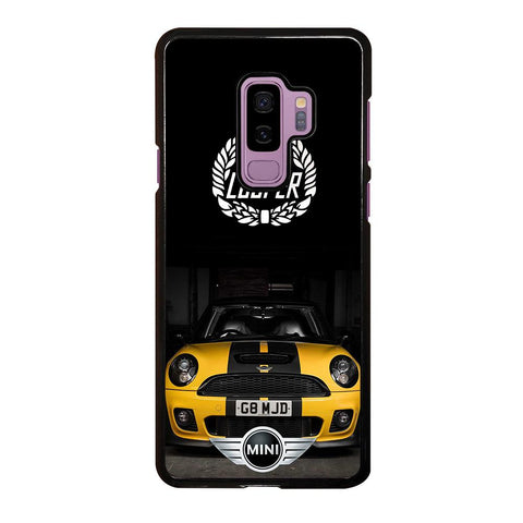 coque custodia cover fundas hoesjes j3 J5 J6 s20 s10 s9 s8 s7 s6 s5 plus edge D35094 MINI COOPER CAR #1 Samsung Galaxy S9 Plus Case