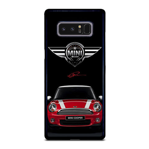 coque custodia cover fundas hoesjes j3 J5 J6 s20 s10 s9 s8 s7 s6 s5 plus edge D35098 MINI COOPER CAR #2 Samsung Galaxy Note 8 Case