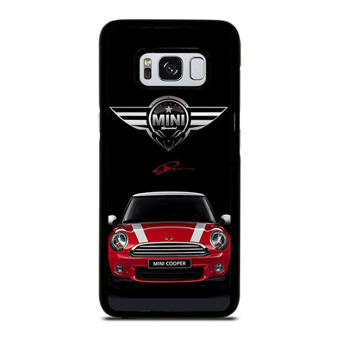 coque custodia cover fundas hoesjes j3 J5 J6 s20 s10 s9 s8 s7 s6 s5 plus edge D35110 MINI COOPER CAR #2 Samsung Galaxy S8 Case