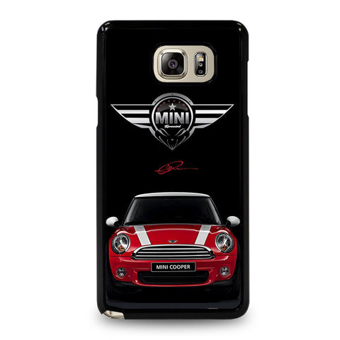 coque custodia cover fundas hoesjes j3 J5 J6 s20 s10 s9 s8 s7 s6 s5 plus edge D35097 MINI COOPER CAR #2 Samsung Galaxy Note 5 Case