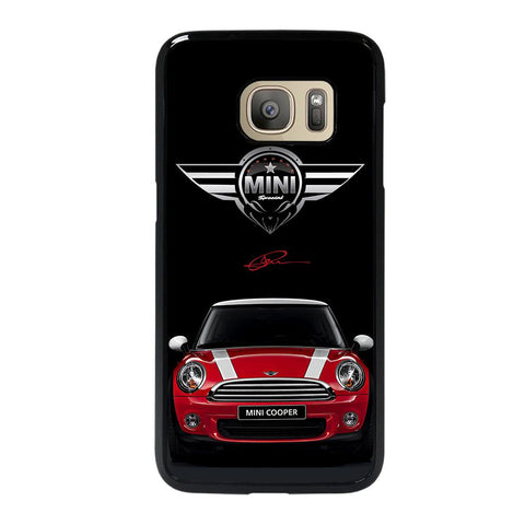 coque custodia cover fundas hoesjes j3 J5 J6 s20 s10 s9 s8 s7 s6 s5 plus edge D35108 MINI COOPER CAR #2 Samsung Galaxy S7 Case