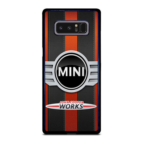 coque custodia cover fundas hoesjes j3 J5 J6 s20 s10 s9 s8 s7 s6 s5 plus edge D35130 MINI COOPER JOHN WORKS #2 Samsung Galaxy Note 8 Case