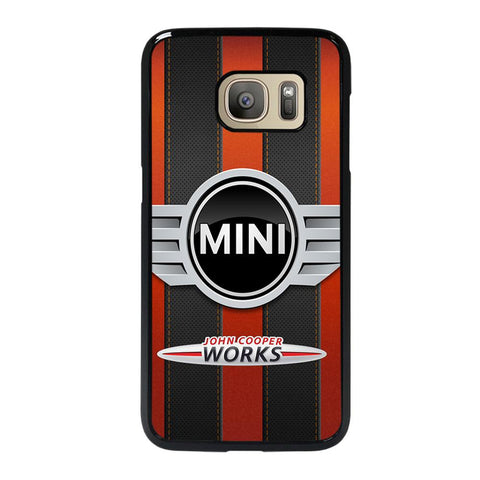 coque custodia cover fundas hoesjes j3 J5 J6 s20 s10 s9 s8 s7 s6 s5 plus edge D35136 MINI COOPER JOHN WORKS #2 Samsung Galaxy S7 Case