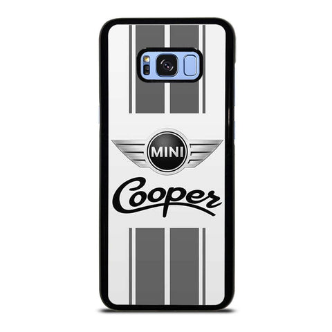 coque custodia cover fundas hoesjes j3 J5 J6 s20 s10 s9 s8 s7 s6 s5 plus edge D35157 MINI COOPER STRIPE GRAY Samsung Galaxy S8 Plus Case