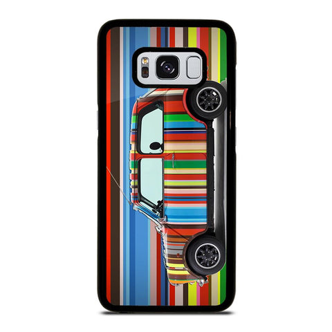 coque custodia cover fundas hoesjes j3 J5 J6 s20 s10 s9 s8 s7 s6 s5 plus edge D35175 MINI COOPER STRIPE PAUL SMITH Samsung Galaxy S8 Case